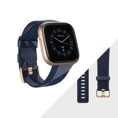 Reloj Smart Fitbit VERSA 2 FB507RGNV Special Edition Navy Pink Woven
