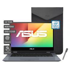 """Laptop Asus TP412FA-EC052T 14"""" Intel Core i5-8265U 512GB SSD 8GB RAM"""