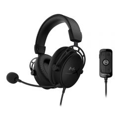 Audífono Hyperx Cloud Alpha S Blackout HX-HCAS-BK/WW