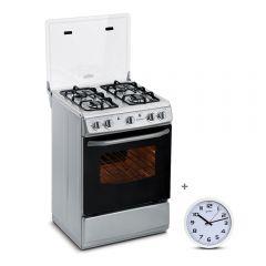 Cocina GLP Miray CMS-24S 4 Hornillas + Reloj Pared Miray RMP-83