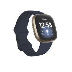 Reloj Smart Fitbit VERSA 3 MIDNIGHT/SOFT GOLD