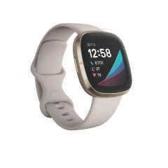 Reloj Smart Fitbit Sense Stainless Steel White