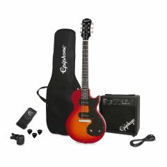 Pack de Guitarra Epiphone PPEG ENOPHSCH3 Cereza Sunburst