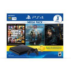 Consola PS4 Slim 1TB Sony Megapack