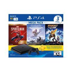 Consola PS4 Slim 1TB Sony Mega Pack 15