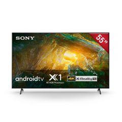 "TV Sony LED 4K UHD Smart Android 55"" XBR-55X805H LA8"