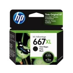 Cartucho de tinta HP 667 XL Negro Original