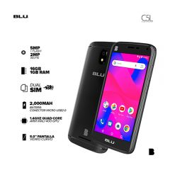 "Celular Blu C5L 5.0"" 16GB Negro"