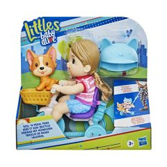 Littles By Baby Alive Triciclo De Paseo