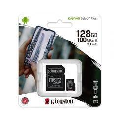 Tarjeta Micro SD Kingston 128GB Canvas Select Plus