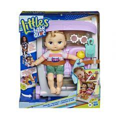 Baby Alive Muñeca Littles Roll Kick P. Rubia Hasbro