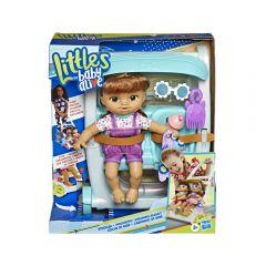 Baby Alive Muñeca Littles Roll Kick P Castaña Hasbro