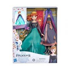 Muñeca Frozen 2 Transformación De Anna Hasbro