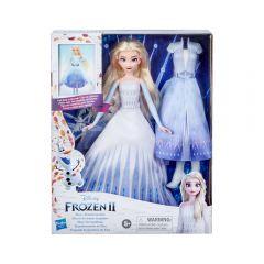 Muñeca Frozen 2 Transformación De Elsa Hasbro