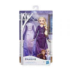 Muñeca Frozen 2 Doll N Extra Fash Elsa Hasbro