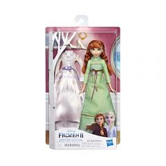 Muñeca Frozen 2  Doll N Extra Fash Anna Hasbro