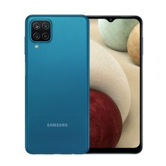 """Celular Libre Samsung A12 6.5"""" 64GB Azul"""