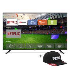 "TV Miray LED FHD Smart 43"" MS43-E201 + Gorra"