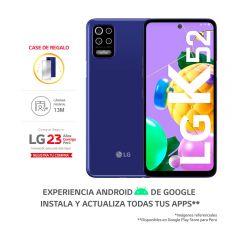"""Celular Libre LG K52 6.6"""" 64GB Azul"""