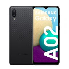 """Celular Libre Samsung A02 6.5"""" 32B Negro"""