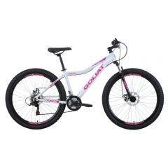 """Bicicleta Goliat Aro 27.5"""" Makaha con suspensión Blanco"""