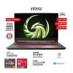 "Laptop Gamer MSI Alpha 17 A4DE 17.3"" AMD Ryzen 7-4800H 512GB SSD 16GB RAM"