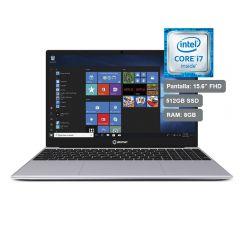 Laptop Miray LPM-BW15-i7 Intel Core i7-6600U 512 GB SSD 8 GB RAM Silver