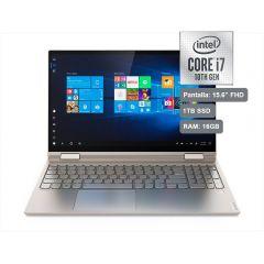 "Laptop Lenovo Yoga C740 15.6"" Intel Core i7 10510U 1TB SSD 16GB RAM"