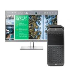 """Workstation HP Z4 G4 Intel Xeon W-2123 512GB TLC SSD 16GB RAM + Monitor HP E243 FHD 23.8"""""""