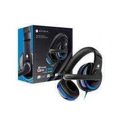 Audífono Gaming  Antryx AGH-370B Azul