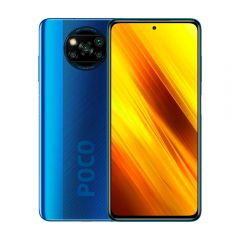 """Celular Libre Xiaomi Poco X3 6.67"""" 64GB 6GB RAM Azul"""
