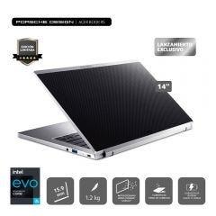"Laptop Acer Porsche Design AP714-51T-506Y 14"" 11th Gen Intel Ci51135G7 512GB 8GB RAM"