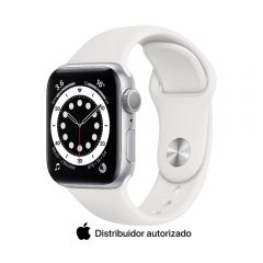Apple Watch Series 6 GPS 40mm Plata