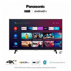 "TV Panasonic LCD 4K UHD Smart 43"" TC-43HX550P"