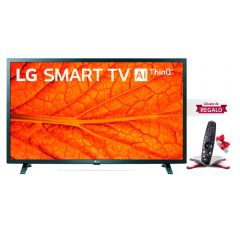 "TV LG LED HD ThinQ AI 32"" 32LM637B + Control remoto Magic LG MR20GA"