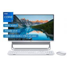 "All In One Dell Inspiron 5400 23.8"" Intel Core i7 1165G7 256GB SSD + 1TB HDD 16GB RAM"