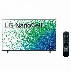"TV LG LED 4K NanoCell ThinQ AI 55"" 55NANO80 (2021)"