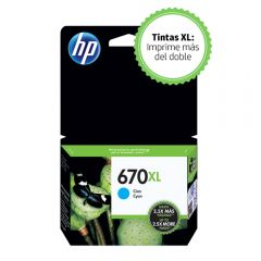 Cartucho de Tinta HP 670XL Cian Original
