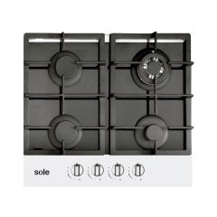 Cocina a Gas Empotrable Sole SOLCO 028/M-612-1 4 Hornillas
