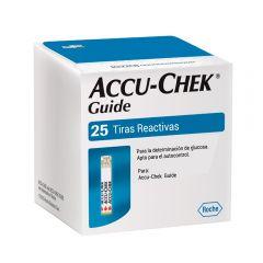 Tiras Reactivas Accu-Chek Guide x25