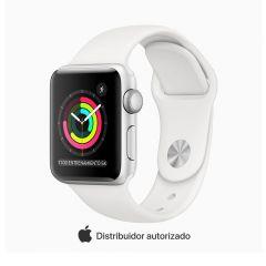 Apple Watch Series 3 GPS 38mm Plata