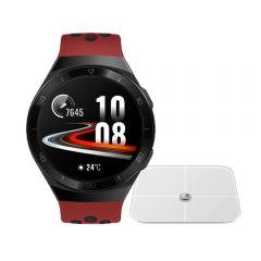 Reloj Huawei Watch GT2e Hector-B19R Red + Balanza Huawei Smart Scale CH-100