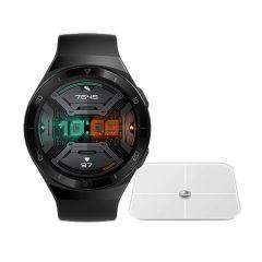 Reloj Huawei Watch GT2e Hector-B19S Black + Balanza Huawei Smart Scale CH-100