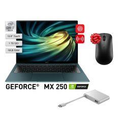 "Laptop Huawei Matebook X Pro 13.9"" Intel Core i7-10510U 1TB SSD 16GB RAM + Mouse Bluetooth Huawei Swift CD20 GRATIS + Adaptador Huawei MateDock 2 AD11"