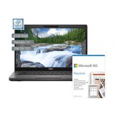 "Laptop Dell Latitude 5400 14"" Intel Core i5-8265U 256GB SSD 8GB RAM + Microsoft Office Personal 365"