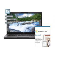 "Laptop Dell 6T2VF 14"" Intel Core i5-8265U 1TB 8GB RAM + Microsoft Office Personal 365"