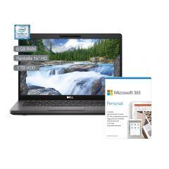 "Laptop Dell Latitude 5400 14"" Intel Core i7-8665U 1TB HDD 8GB RAM + Microsoft Office Personal 365"