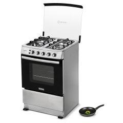 Cocina a GLP Miray Gardenia 4 Hornillas + Sartén Miray SMRA-22CM