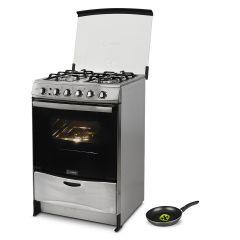 Cocina a GLP Miray Salvia 4 Hornillas + Sartén Miray SMRA-24CM