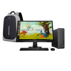 Desktop HP Slim S01-pF1006bla Intel Core i5-10400 2TB HDD 8GB RAM + Mochila para Laptop Miray MML-ENL67115B-4-G